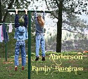 Anderson Family Bluegrass CD