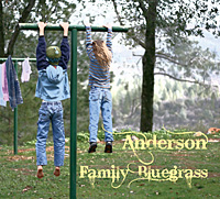 Anderson Family Bluegrass CD Cover