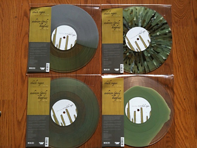 The four record colors